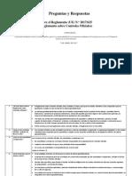 FAQ Reglamento 625-2017