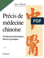 Precis de medecine chinoise_ fondements historique - Eric Marie