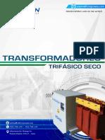 CATALOGO DE TRANSFORMADORES TRIFASICOS SECOS