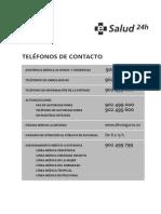 Valencia DKV CUADRO MEDICO