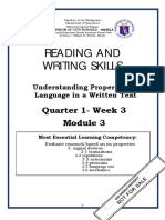 Reading and Writing q1 w3 Mod3