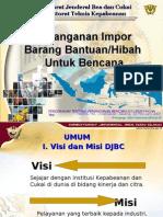penanganan impor barang bantuan dan hibah