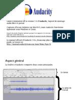 Guide Audacity