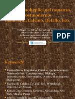 Passaggi Molteplici Nel Romanzo Postmoderno - V02.05.04