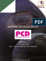 Rapport de Veille Salon PCD 2011