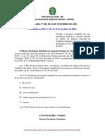 PORTARIA 608 2020 ANVISA-Listagem completa dos atos normativos inferiores a decreto vigentes no âmbito da ANVISA nos termos do Decreto 10139 2019