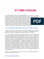 HADRAT UMM-E-SALMA(R.A)