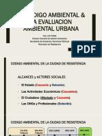 EL CODIGO AMBIENTAL & LA EVALUACION AMBIENTAL URBANA_EMP_10.09.19