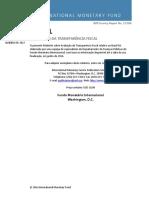 FMI - Avaliaçao de transparencia fiscal - Brasil-2017