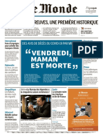 ?? Le Monde (05 e 06.04.20)