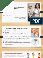 Relația Asitentului Medical Cu Pacientul