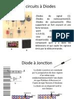 Les circuits à Diodes