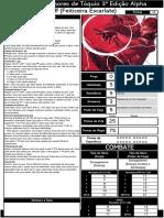 Feiticeira Escarlate - 3D&T Alpha