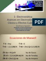 Clase Electromagnetismo 1