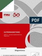 ELETROMAGNETISMO - PARTE IV