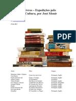 Lista 100 Livros José Monir Nasser