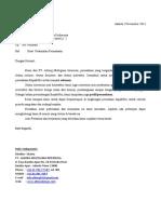 2. Surat Perkenalan Perusahaan untuk  KFC