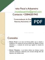 Direito Fiscal e Aduaneiro_Aula I