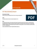 Scheme of work – Cambridge IGCSE® Chemistry (0620)