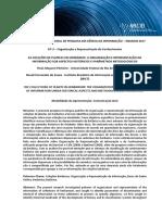 Pinheiro e Souza - AS COLEÇÕES DE PLANTAS EM HERBÁRIOS_A ORGANIZAÇÃO E REPRESENTAÇÃO DA INFORMAÇÃO SOB ASPECTOS HISTÓRICOS E PARÂMETROS METODOLÓGICOS