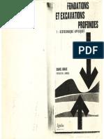 1967 - Fondations et excavations profondes - Graux