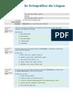 2020 - Acordo Ortográfico da Língua Portuguesa