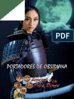 A Lenda Dos Cinco Anéis - Portadores de Obsidiana - Biblioteca Do Duque