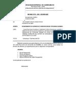 INFORME RESID. N° 011-2021 - REQ. SERVICIO DE CONSTRUCCION DE ESTACION DE BOMBEO