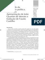 Marx - O método da economia política