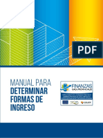 Manual para Determinar Nuevas Formas de Ingreso - con enfoque de innovación pública.