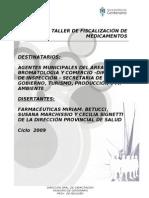 FISCALIZACION DE MEDICAMENTOS