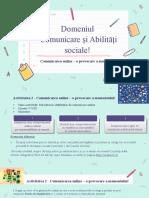 Sugestii pentru cadrele didactice - comunicarea online