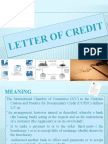 LETTER OF CREDIT ppt