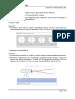 Stadia Surveying