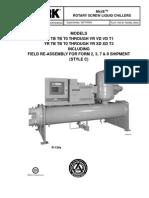 YR Install, Operation & Maintenance Manual #2