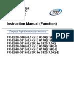 FR-E800 Instruction Manual (Function)
