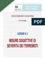 LCZS-02 - Misure Oggettive Di Severità Dei Terremoti