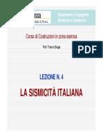 LCZS-04 - La sismicità  italiana