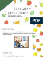 DIETA CLARA Y SEMILIQUIDA