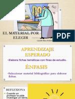 19 ENE EL MATERIAL POR ELEGIR