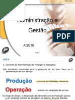 Administração e gestão: introdução