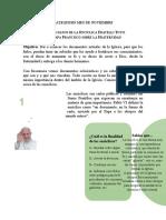 Catequesis No. 1 Introducción a la Fratelli Tutti