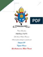 Catequesis No. 8 Fratelli Tutti 09 de marzo