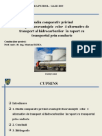 Prezentare studiu comparativ  transporturi