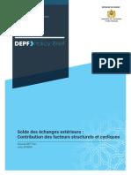 PolicyBrief_Solde des échanges extérieurs