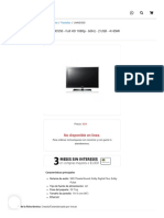 Televisión LCD Samsung LN40D550, Full HD 1080p, 60Hz, 2 USB, 4 HDMI - LN40D550 _ intercompras