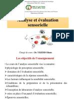 analyse et evaluation sensorielle