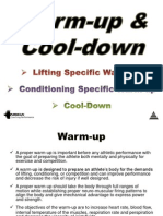 Warm-up & Cool-down