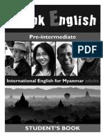 Book Think English Pre-Int Sb