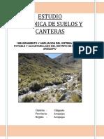 1.- Estudio de Mecanica de Suelo y Canteras